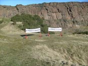 Traces, Salisbury Crags, Edinburgh, 2010